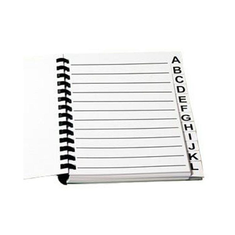 grootletter Adressen / Telefoonboek A5 ST42007