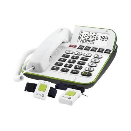 Doro alarmtelefoon 350 wit ST550120