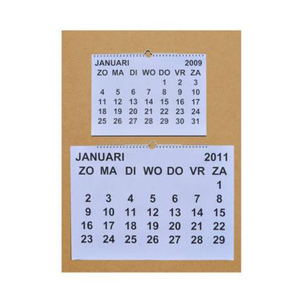 Grootletter maandkalender A4 ST420020-0