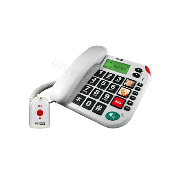 Maxcom KXT 481 + SOS huistelefoon ST572008
