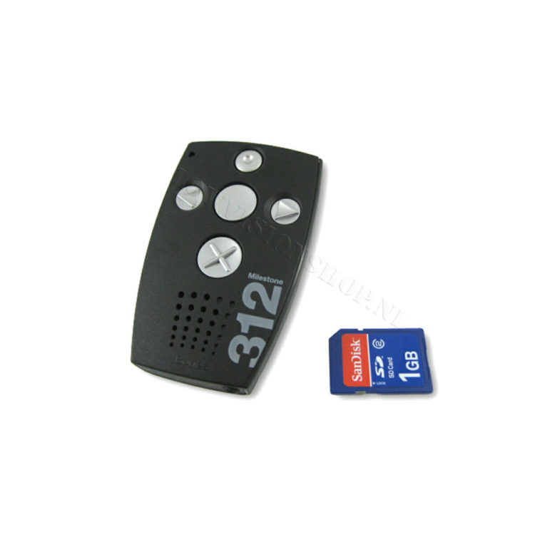 Milestone 312 memorecorder ST668508