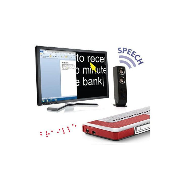 Supernova vergroting- spraak- en braillesoftware voor pc ST902001