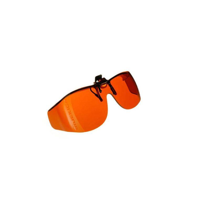 Cocoon voorzethanger filterbril oranje