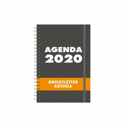 Grootletter Agenda A4 - HB