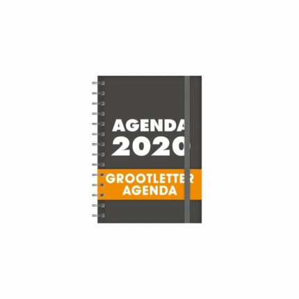 Grootletter Agenda A5 - HB