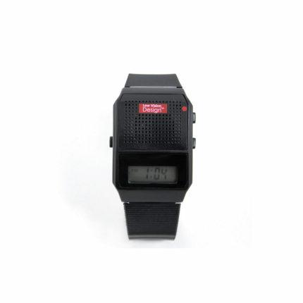 Nederlandssprekend horloge kunststof zwart ST643001