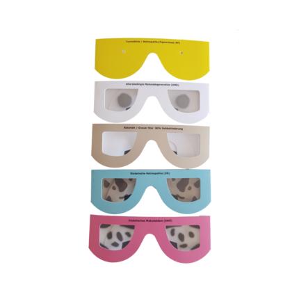 Simulatiebrillen karton per 5 stuks