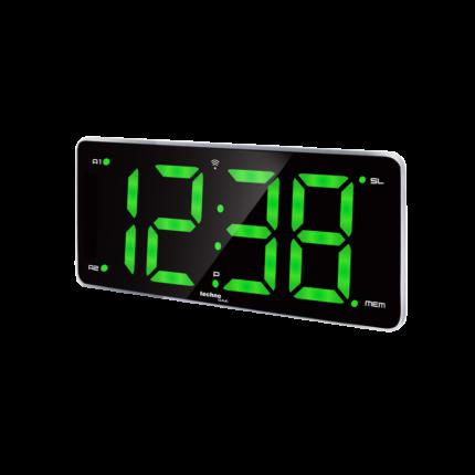 Wekkerradio groen display atoomgestuurd