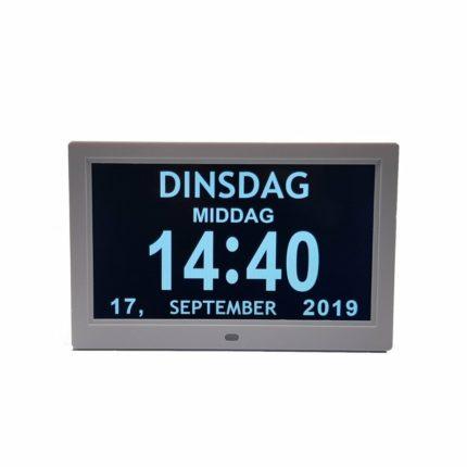 Digitale dagklok - 25 cm