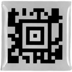 Barcode sticker dik