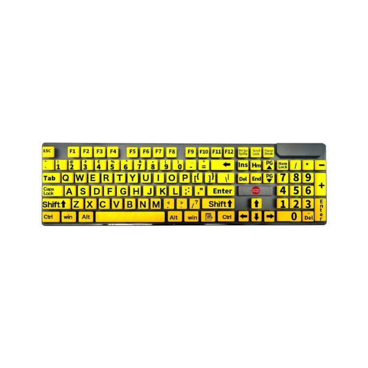 ST683185 Toetsenbord grootletter geel 2.0
